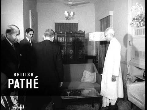 UN Secretary General U Thant In India   (1967)