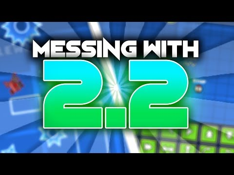 GEOMETRY DASH UPDATE 2.2 IS OUT? - Building With Flukester | Geometry Dash [2.2]