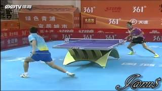 2012 China Super League: WANG Liqin - LEI Zhenghua [Full Match/Short Form]