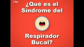¿Qué es el Síndrome Respirador Bucal?