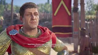 Playing assassin creed Odyssey chat decides what i do
