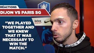 VIDEO: POST GAME INTERVIEWS : DIJON vs PARIS SAINT-GERMAIN