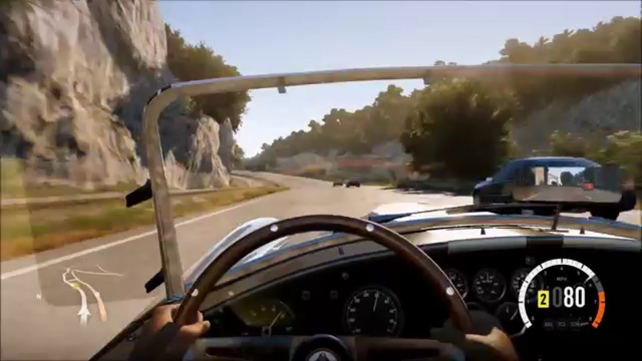 Shelby cobra nurburgring lap and horizon cruise
