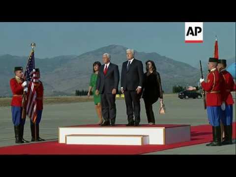 Pence Visits New NATO Member Montenegro