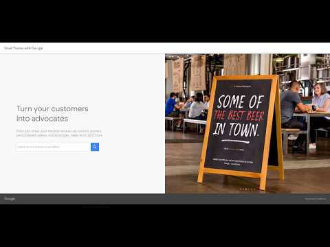 Google My Business - Promotional Materials with Google Reviews