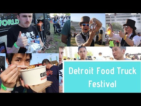 Food Truck Rally In Detroit
