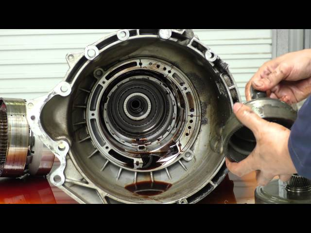 ZF 5HP18 Automatic Transmission Complete Tear Down - BMW E34