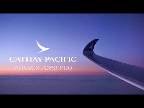 Cathay Pacific A350-900 | HONG KONG to NEW YORK EWR