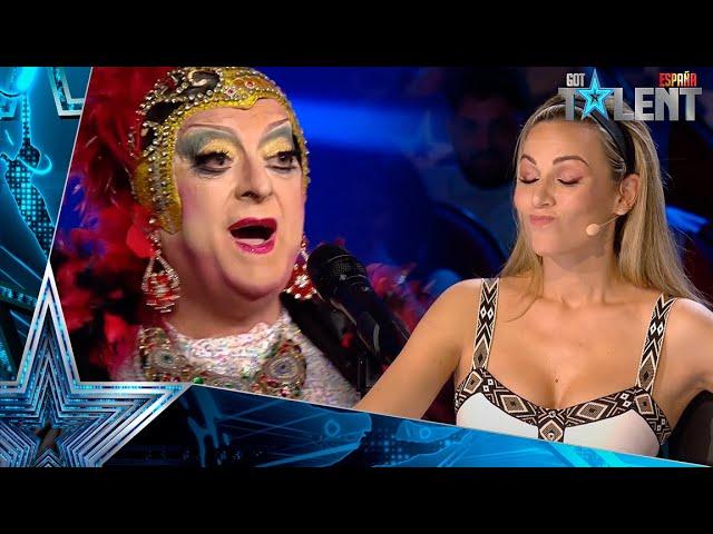 OMG: Esta concursante cambia ASÍ de nombre a Edurne y Risto   Audiciones 6   Got Talent España 2021