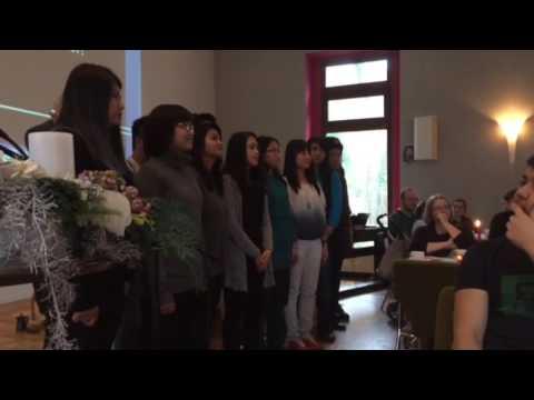malam yang indah (lagu natal) Paduan Suara Perhimpunan Pelajar Indonesia (PPI) di Germany