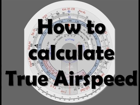 CRP-5: How to calculate True Airspeed (TAS)
