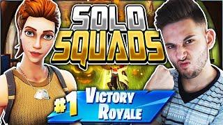 Η ΧΑΜΟΓΕΛΑΣΤΗ ΘΕΡΙΖΕΙ SQUADS! (Fortnite Battle Royale)