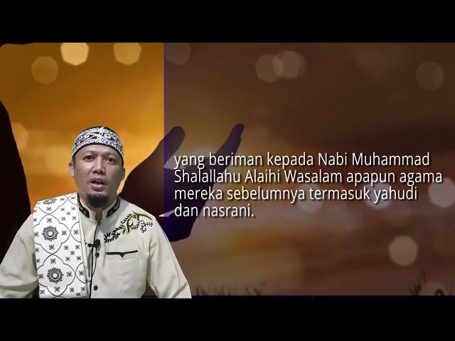 Ahli Kitab Menurut Al Quran - QS Ali Imran 113 - Ust Dikdik