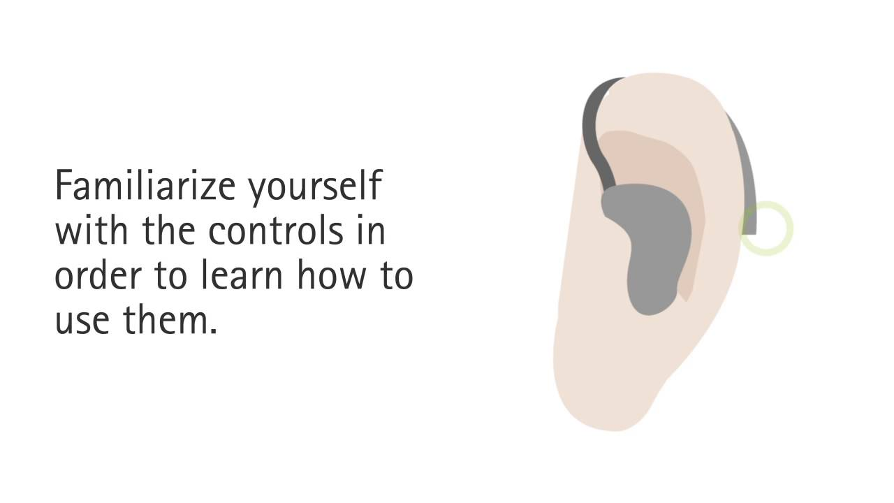 Tips to get used to your hearing aid at home