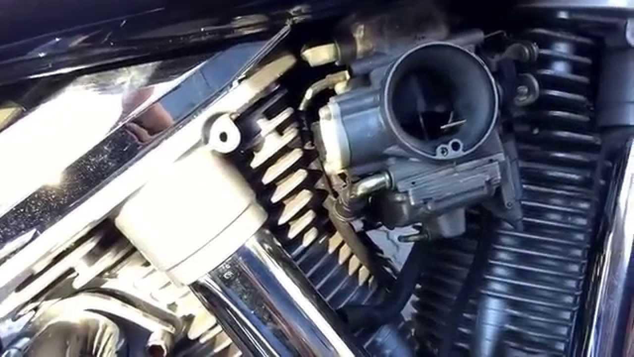 Yamaha V Star Carb Problems