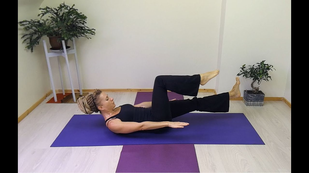 Pilates Advanced Single Leg Circle