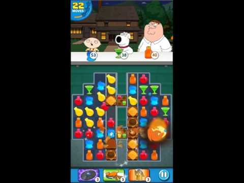 Family Guy Another Freakin Mobile Game Level 209 - NO BOOSTERS