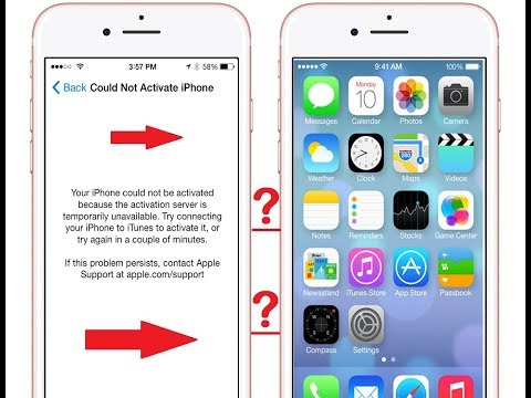 Could not activate iphone ?? The activation server cannot be reached..? Solution is here: Hay guys watch how to make your iphone activate ..thank you i have just facing this type of problem ...