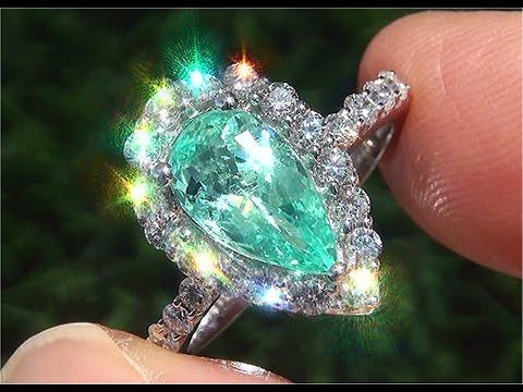 gia-certified-vvs-natural-copper-&-manganese-paraiba-tourmaline-diamond-14k-white-gold-ring---c818