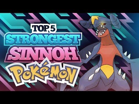 Top 5 Strongest Sinnoh Pokemon