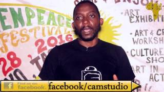 VITALI MAEMBE, SUMU YA TEJA INTERVIEW With CAM TV @ Green Peace Music Festival