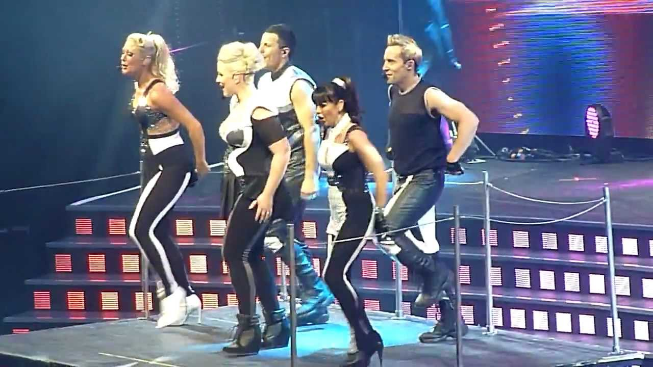 Steps Ultimate Tour Dancers