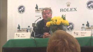 Yogi Breisner on Zara Phillips' Rolex withdrawal