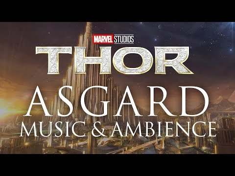Marvel Music & Ambience | Asgard - Mystical Ambience with Musical Themes from the Thor Films