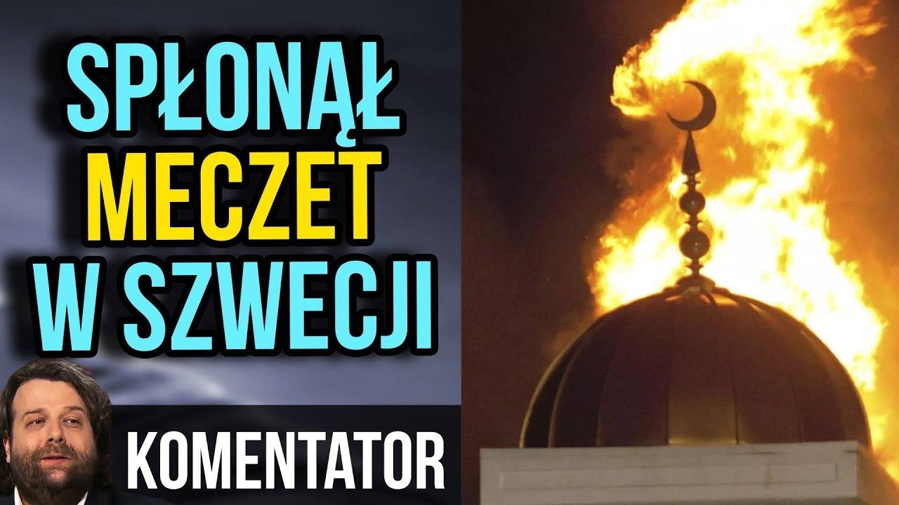 Spłonął Kolejny Meczet w Szwecji.