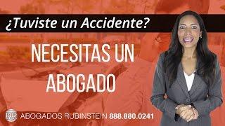 Abogados para Accidentes  de auto - Abogado Rubinstein