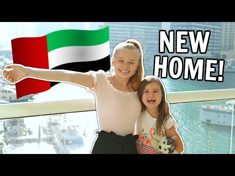 FIRST DAY LIVING in DUBAI! **NEW HOME!!!**