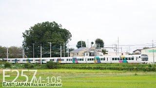 【E257系 団臨】E257系0番台M-105  臨時列車と貨物列車 EF66 132+コキ EF210 EH500 2019.10.7