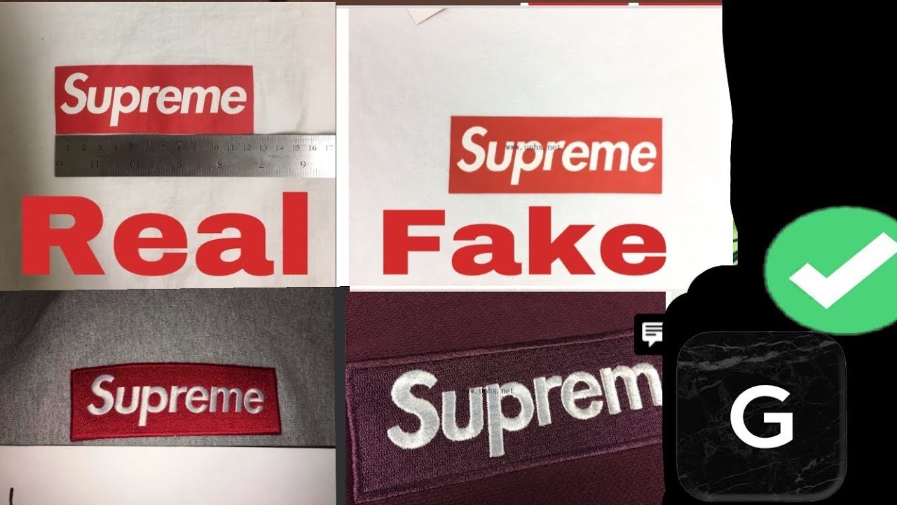4f2aac3fb7fc HOW TO LEGIT CHECK SUPREME BOX LOGO HOODIES AND TEES!! 2017!! NEWEST  VERSION!