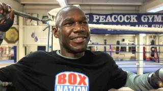 OVILL McKENZIE ON WHY HE BELIEVES TONY BELLEW VACATED EUROPEAN TITLE & ON HIS ROLE IN MOVIE 'CREED'