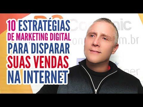 10 Estratégias de Marketing Digital para Disparar suas Vendas na Internet