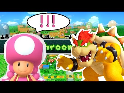 WHAT... JUST HAPPEN!? - Mario Party 10; (as Toadette ...