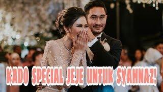 Sah Jadi Suami Istri, Ini kado Special Jeje Untuk Syahnaz, Amazing!