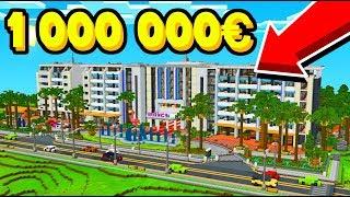 MON NOUVEAU HOTEL DE LUXE A 1.000.00€ ! - RP HOTEL MINECRAFT