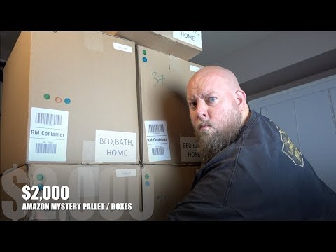 I bought a $2,000 Amazon Customer Returns Pallet / Mystery Boxes