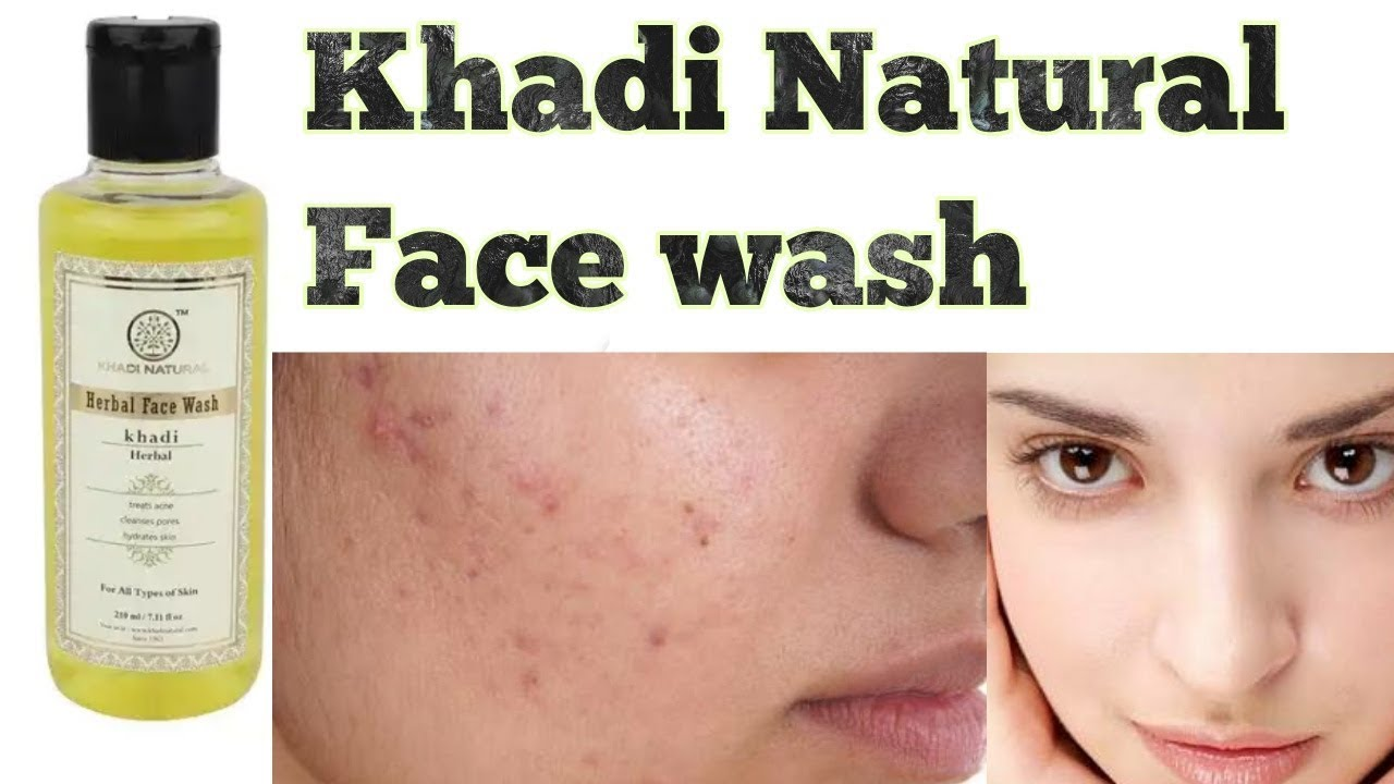Khadi Natural Herbal Face Wash For All Type Skin Review
