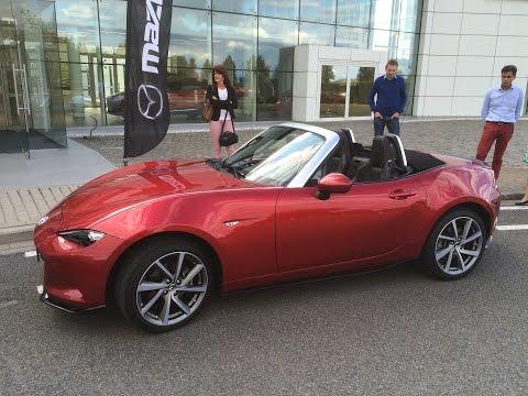 Test drive Miata/MX-5 ND 2.0 Sport @ Mazda Belgium (4K Video)