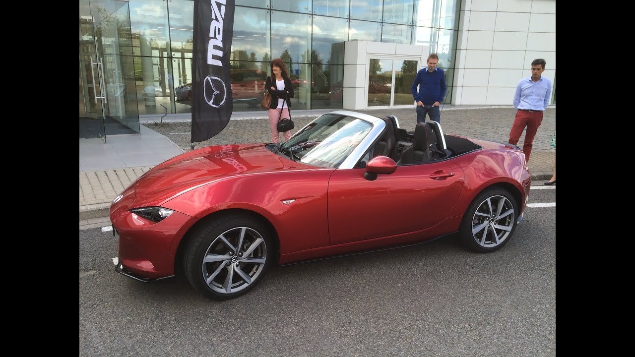 test drive miata mx 5 nd 2 0 sport mazda belgium 4k. Black Bedroom Furniture Sets. Home Design Ideas
