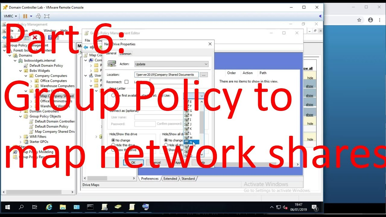 Part 6: Basic Windows Server and Active Directory Admin - Group Policy Map Directory To Drive on database map, business map, arizona city az map, marketing map, search map, google map, information map, california lutheran university campus map, clinton county road map, maps map, server map, data map, black canyon city az map, library map, overview map, jobs map, calendar map, property map, guide map, application map,