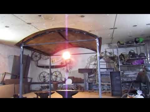 Как сделать мангал с крышей своими руками