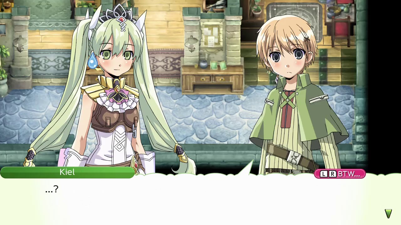 Rune Factory 4 Special - Random Moment - Kiel talks about
