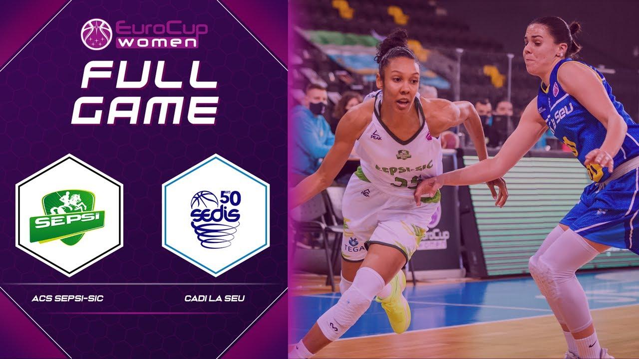 ACS Sepsi-SIC v Cadi La Seu | Full Game - EuroCup Women 2020-21