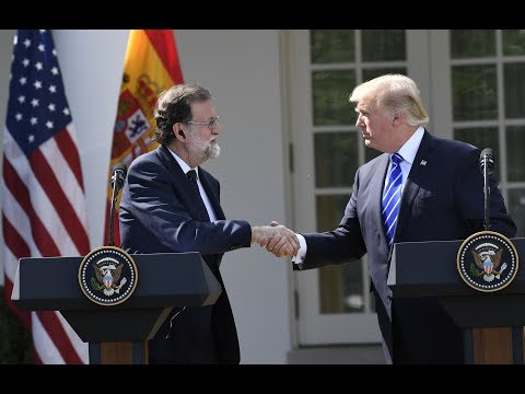 Trump holds news conference with Spanish prime minister (entire event)