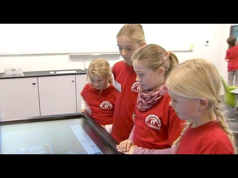 Der Unterricht von morgen im digitalen und interaktiven Klassenzimmer