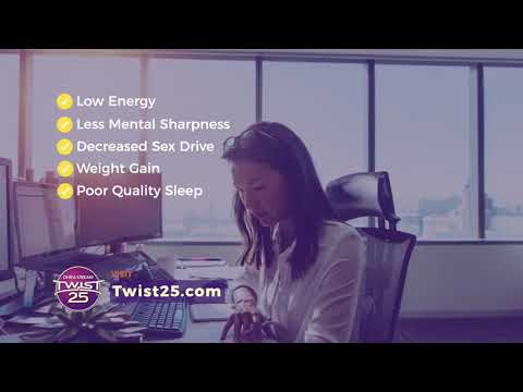 Twist 25 DHEA Cream Helps Promote Weight Loss And Reduce Abdominal Fat