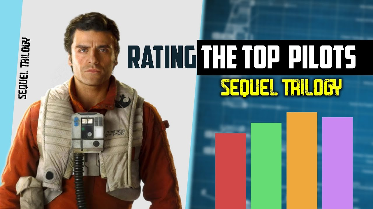Rating the Top Pilots | Star Wars Sequel Trilogy